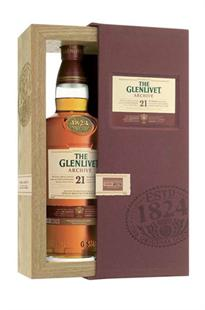 The Glenlivet Scotch Single Malt 21 Year...